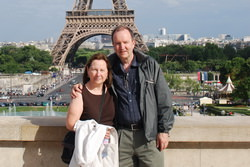 Diane and Jean in Paris, 2009