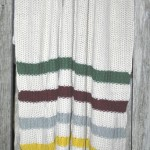 Tom Knitted Throw from Brunelli