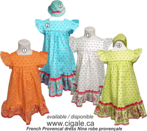 Children Dresses and Skirts from France