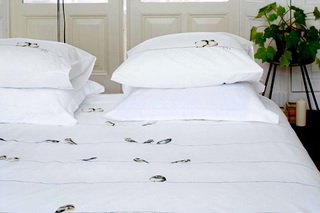 Bla Bla Bla Duvet Cover by Brunelli.