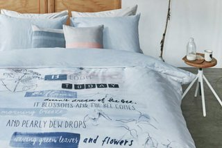 Blooming Day, Duvet Cover by Brunelli.