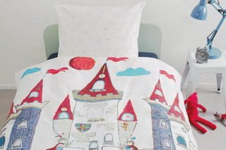 Castle Duvet Cover by Brunelli.