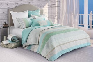 Seaport, 100% cotton Duvet Cover by Brunelli, a holiday souvenir