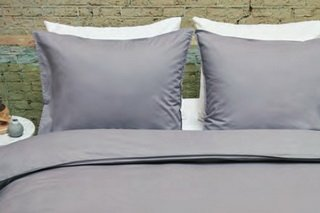Essentiel grey, Duvet Cover by Brunelli.