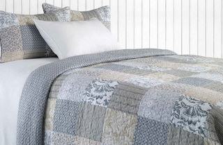 Germaine quilts from Brunelli.