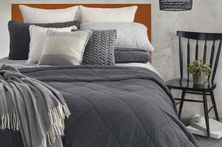 Riverstone Coverlet from Brunelli.