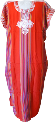 Moroccan dress orange
