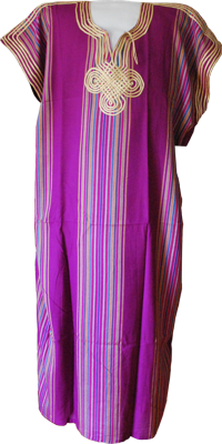 Moroccan dress prune