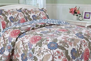 Revello quilts from The St.Pierre collections.