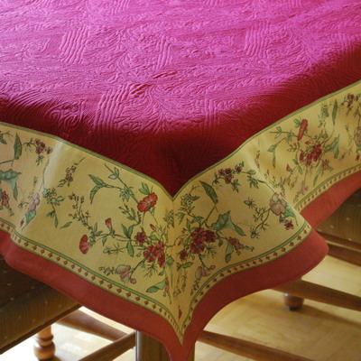 nappes provencales de luxe marseille effet bouti. Black Bedroom Furniture Sets. Home Design Ideas