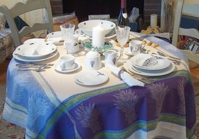 Beautiful Provencal Tablecloths made in France
