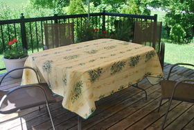polyester tablecloths from Provence